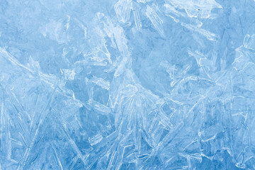 texture ice winter patterns / background photo fancy patterns on ice