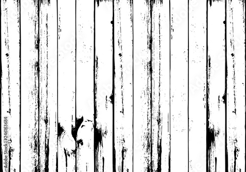 Distressed Wooden Planks Overlay Texture Vector Ilration Wood Grain Background