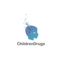 CHILDREN DRUGS logotype