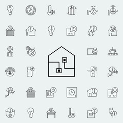 smart House icon. Automation icons universal set for web and mobile