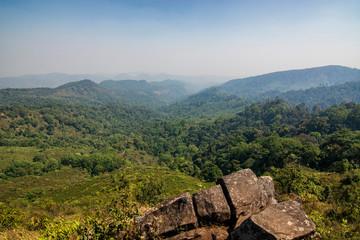 Viewpoint at Doimonjong in Chiangmai,Thailand.