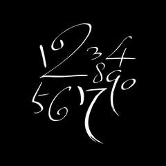 알파벳 / 손으로 쓴 글씨체