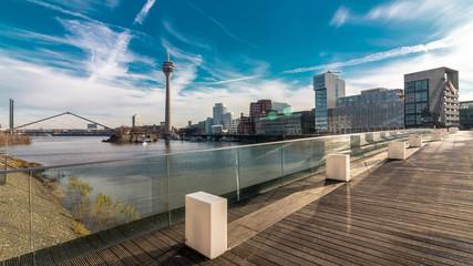 Guten Morgen - Düsseldorf Medienhafen