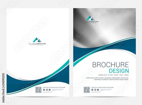 Brochure Template Flyer Design Vector Background Fichier Vectoriel