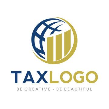 Tax and Accounting, Bookeping Logo Vector