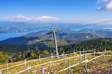 Lago Maggiore vom Berg Mottarone - Lago Maggiore from mountain Mottarone