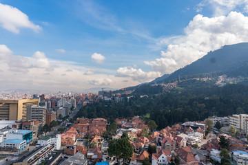 Día soleado en Bogotá