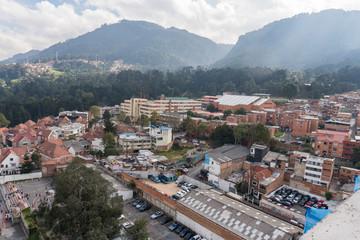 Día nublado en Bogotá