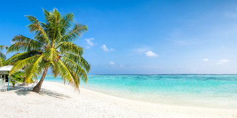Wall Mural - Strandurlaub auf einer tropischen Insel