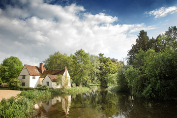 moden day image of the 'The Hay Wain'