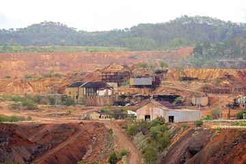 Disused Mt Morgan Australia Gold Mine Site