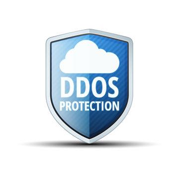 DDOS Protection Cloud Shield illustration