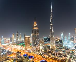 Dubai dowtown skyscrapers, United arabic emirates