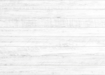 White natural wood wall background. Wood pattern and texture background. Wall mural