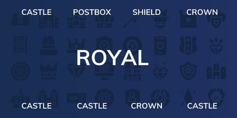 royal icon set