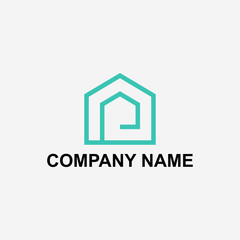 Logo design and logo template