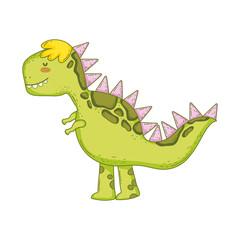 cute tyrannosaurus rex character