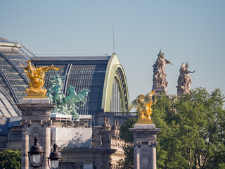 Exterior view of the Grand Palais Fototapete