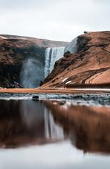 Skógafoss in Island