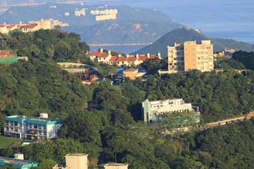 Executive Apartments at Victoria Peak in Hong Kong.