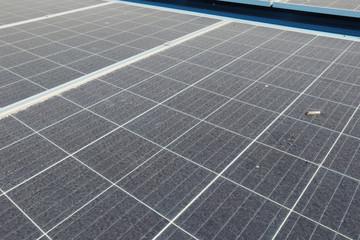 Dirty Dusty Solar Panels