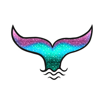 Mermaid tail, Aquarius, fishtail, whale, fish fin