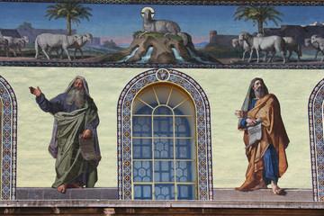 Bailica di San Paolo fuori le mura, mosaico,Roma