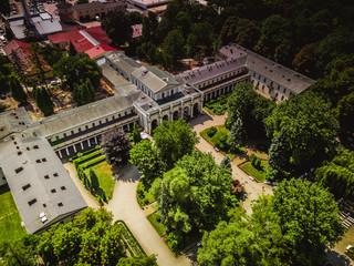 Fototapeta Busko Zdrój panorama