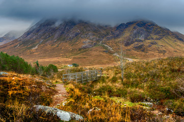Buachaille Etive Mòr from the Devil's Staircase