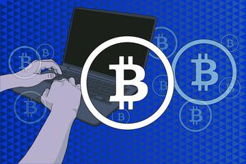 Comercio electrónico con bitcoins