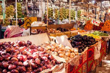 Hurghada, Egypt, vegetable market 08.12.2018.
