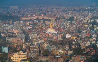 Boudhanath - Bauddhanath Stupa, Kathmandu City, Kathmandu Valley, Nepal, Asia