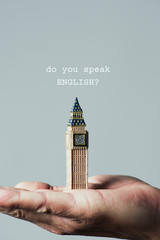 Big Ben and question do you speak English