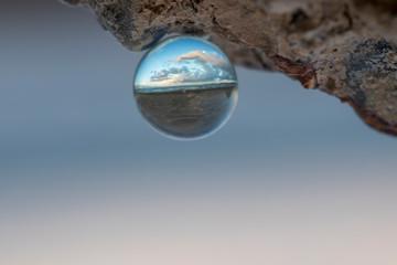 Seashore in Crystal Ball