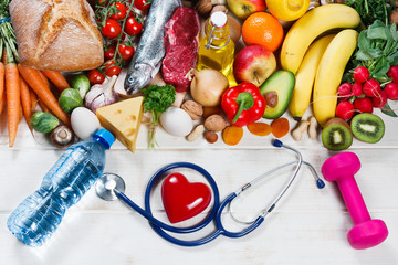 Healthy lifestyle and healthcare concept