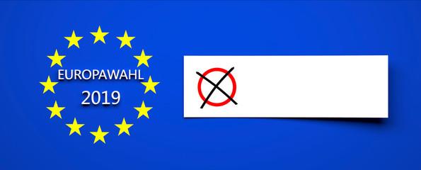 Europawahl - 2019