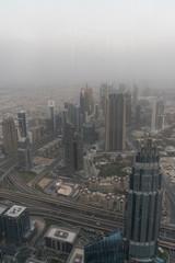 Aluminium Prints Shanghai Dubai city burj khalifa view, united arabic emirates