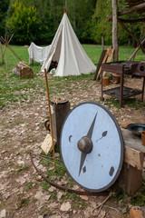 Camp médiéval - bouclier