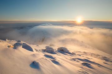 Low Tatras winter landscape