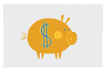 Money Golden Pig