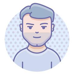 avatar man profile account