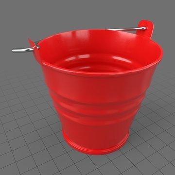 Painted bucket