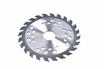 saw blade for woodworking close up