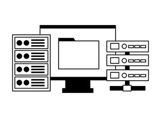 computer folder database server