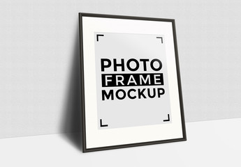 Four Photo Frame Mockups