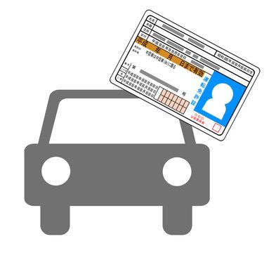 車と運転免許証