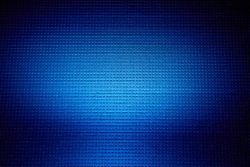 On a blue background volumetric cloud of light