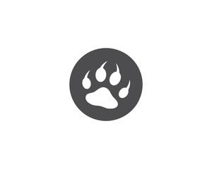 Paw logo vector