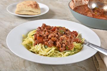 Healthy gluten-free spaghetti