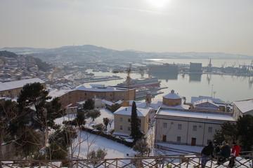 ancona snow